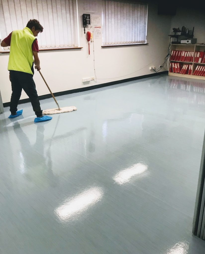Sealing Commercial Floors