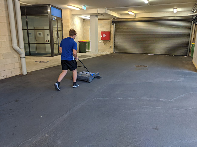 Carpark Cleaning by South West Cleaning